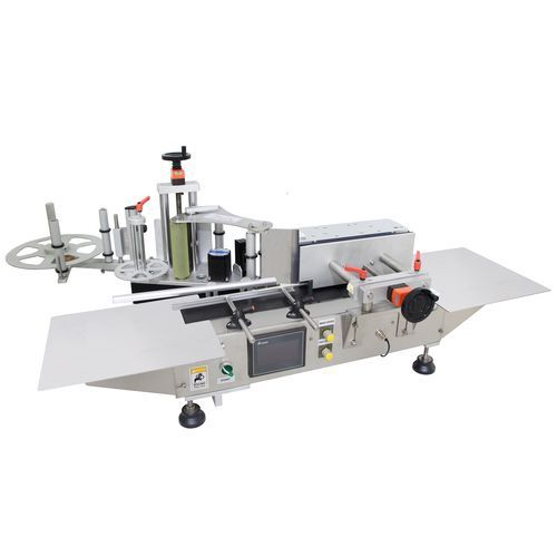 table top bottle labeling machine